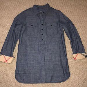Burberry Brit denim shirt XS